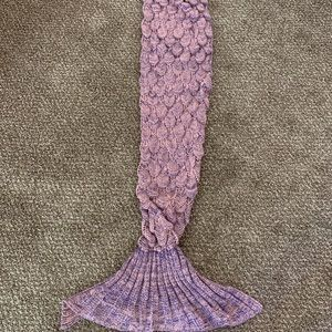 Kids Mermaid Tail Blanket